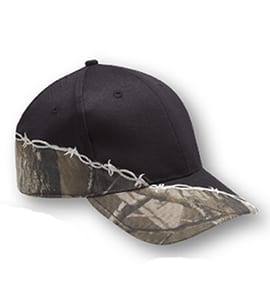Head To Toe 2900 - BARBED WIRE TWO-TONE CAMO HAT