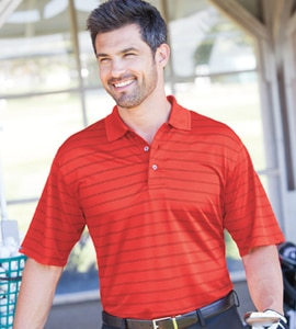 Bermuda Sands 870 - MENS CATALINA PINSTRIPE POLO