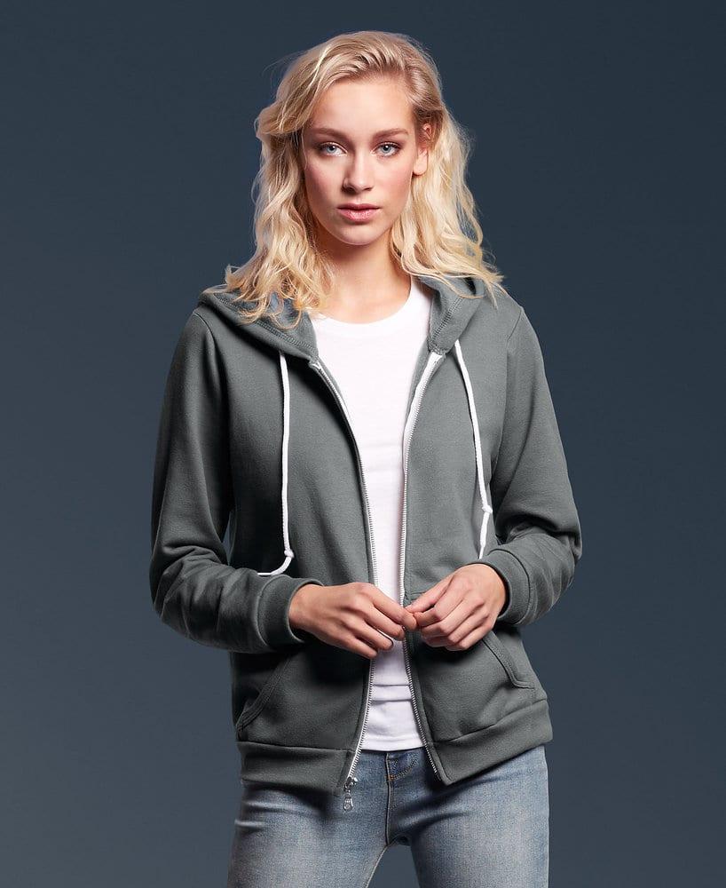 Anvil 71600F - Women's Full-Zip Hooded Fleece