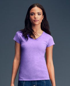 Anvil A380VL - Womens Lightweight Fitted V-Neck Tee
