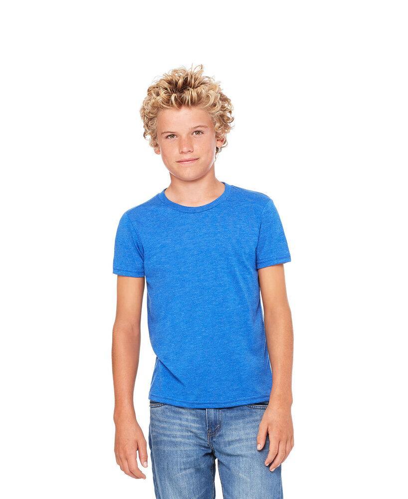 BELLA+CANVAS B3413Y - Youth Triblend Short Sleeve Tee