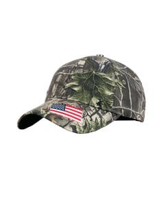 Fahrenheit F0792 - Superflauge Camo with Woven Flag Accent