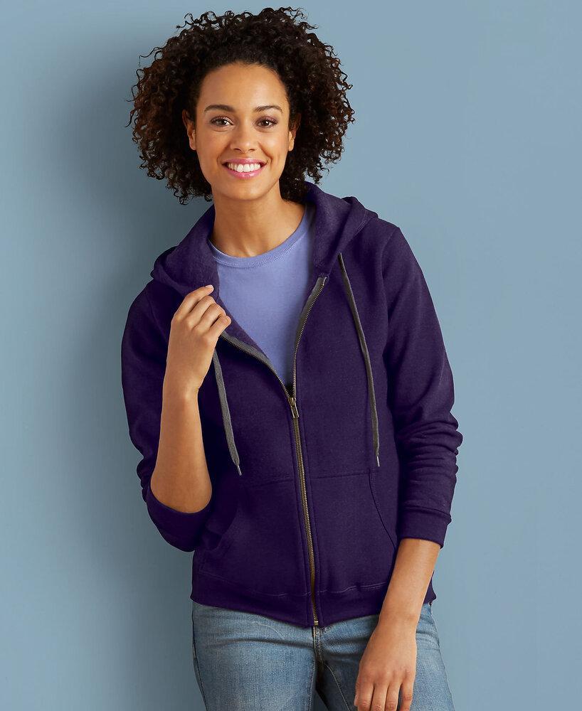 Gildan 18700F - Heavy Blend Ladies' Vintage Full Zip Hooded Sweatshirt