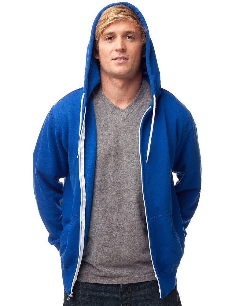 Independent Trading Co. AFX90U - Adult Zip Hooded Fleece
