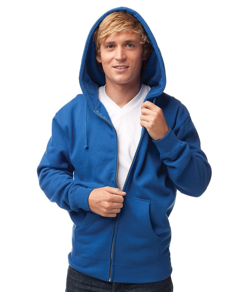 Independent Trading Co. IND40Z - Adult Heavyweight Zip Hooded Fleece