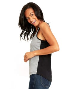 Next Level NL1534 - Womens Ideal Color Block Racerback Tank