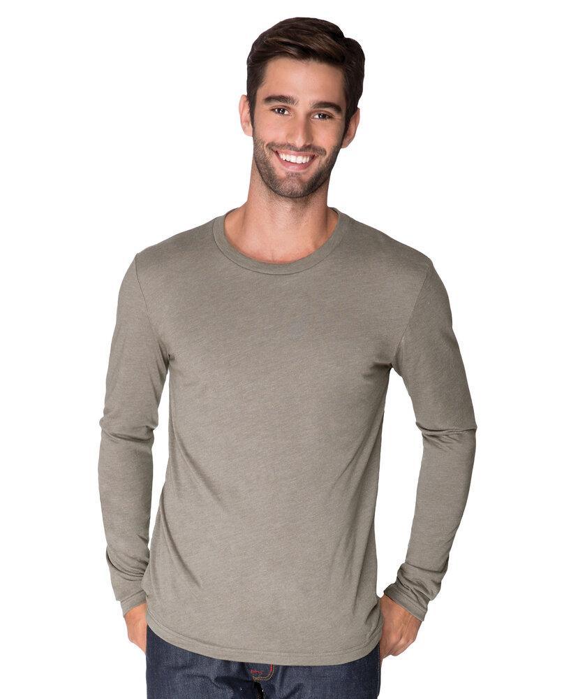 Next Level NL6071 - Men's Tri-Blend Long Sleeve Tee