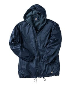 Dickies K33237 - Fleece Lined Hooded Nylon Jacket