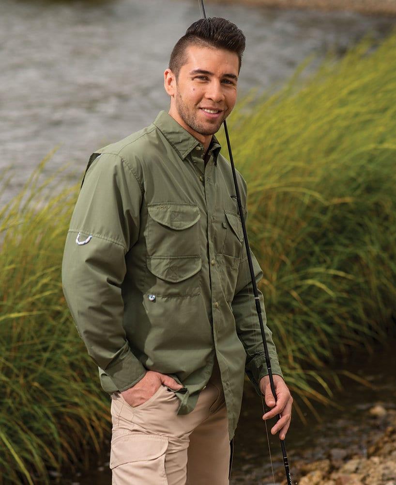 Hilton ZP2289 - Outdoor by Long Sleeve Fishermen Shirts