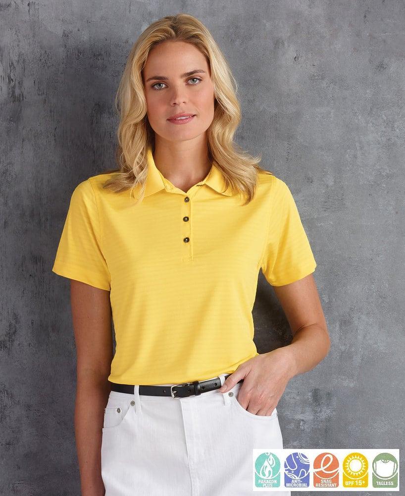 Paragon SM0141 - Ladies' Shadow Stripe Sport Shirt
