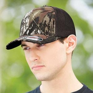 Flexfit 6911 - MOSSY OAK TRUCKER CAP